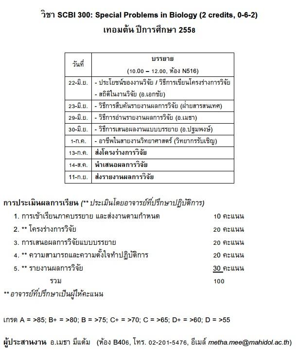 SCBI300_Schedule_2015